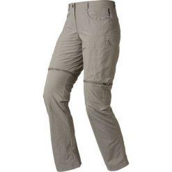 Odlo Spodnie Tech. Pants Zip-off CONVERTIBLE Szary r. 40 (52294140). Spodnie dresowe damskie Odlo. Za 283.15 zł.