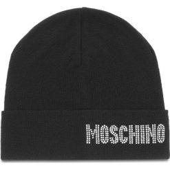 Czapka MOSCHINO - 65128 M1862 016. Czarne czapki i kapelusze damskie MOSCHINO, z materiału. Za 449.00 zł.