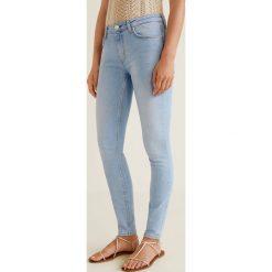 Mango - Jeansy Olivia. Szare jeansy damskie Mango. Za 129.90 zł.