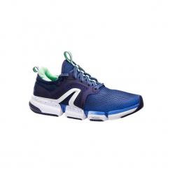 Buty damskie do szybkiego marszu PW 590 Xtense w kolorze niebiesko-zielonym. Obuwie sportowe damskie marki Nike. Za 199.99 zł.