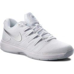 Buty NIKE - Air Zoom Prestige Cpt AA8026 100 White/Metallic Silver. Białe buty sportowe męskie Nike, z materiału. W wyprzedaży za 379.00 zł.