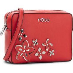 Torebka NOBO - NBAG-E1590-C005 Czerwony. Czerwone listonoszki damskie Nobo, ze skóry ekologicznej. W wyprzedaży za 119.00 zł.