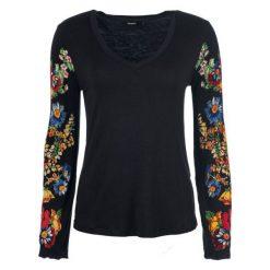 Desigual T-Shirt Damski Claudina M Czarny. Czarne t-shirty damskie Desigual. Za 249.00 zł.