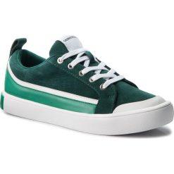Trampki CALVIN KLEIN JEANS - Dino S1760 Green/White/Green. Zielone trampki męskie Calvin Klein Jeans, z gumy. W wyprzedaży za 459.00 zł.