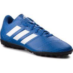Buty adidas - Nemeziz Tango 18.4 Tf DB2264 Fooblu/Ftwwht/Fooblu. Niebieskie buty sportowe męskie Adidas, z tworzywa sztucznego. W wyprzedaży za 169.00 zł.