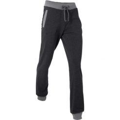 Spodnie sportowe, długie bonprix czarny melanż. Czarne spodnie dresowe damskie bonprix, melanż. Za 74.99 zł.