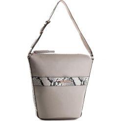 Torebka CALVIN KLEIN - Heath3r Exotic Elongated Bucket Bag K60K602697  069. Brązowe torebki do ręki damskie Calvin Klein, ze skóry ekologicznej. W wyprzedaży za 419.00 zł.