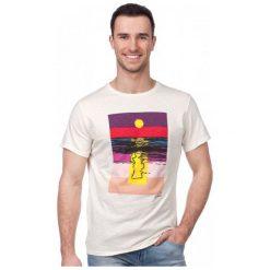 Pepe Jeans T-Shirt Męski Sunset Xl Kremowy. Białe t-shirty męskie Pepe Jeans, z jeansu. W wyprzedaży za 119.00 zł.