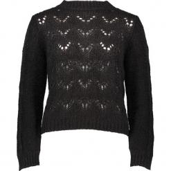 Sweter w kolorze czarnym. Czarne swetry damskie Gottardi, ze splotem. W wyprzedaży za 173.95 zł.