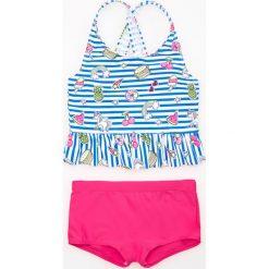 Dwuczęściowy strój kąpielowy - Biały. Stroje kąpielowe dla dziewczynek Reserved. W wyprzedaży za 19.99 zł.