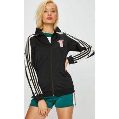 Adidas Originals - Bluza Track Top. Szare bluzy damskie adidas Originals, z nadrukiem, z dzianiny. Za 279.90 zł.