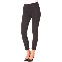 """Spodnie """"Sarah"""" w kolorze czarnym. Czarne spodnie materiałowe damskie Assuili. W wyprzedaży za 90.95 zł."""