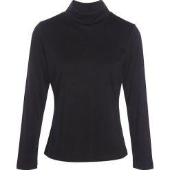 """Koszulka """"Soicol"""" w kolorze czarnym. Czarne bluzki damskie Scottage, ze stójką. W wyprzedaży za 72.95 zł."""
