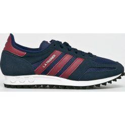 Adidas Originals - Buty La Trainer. Szare buty sportowe męskie adidas Originals, z gumy. W wyprzedaży za 399.90 zł.