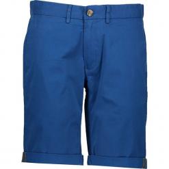 Spodnie chino - Slim fit - w kolorze niebieskim. Niebieskie szorty męskie Ben Sherman, z aplikacjami, z materiału. W wyprzedaży za 152.95 zł.