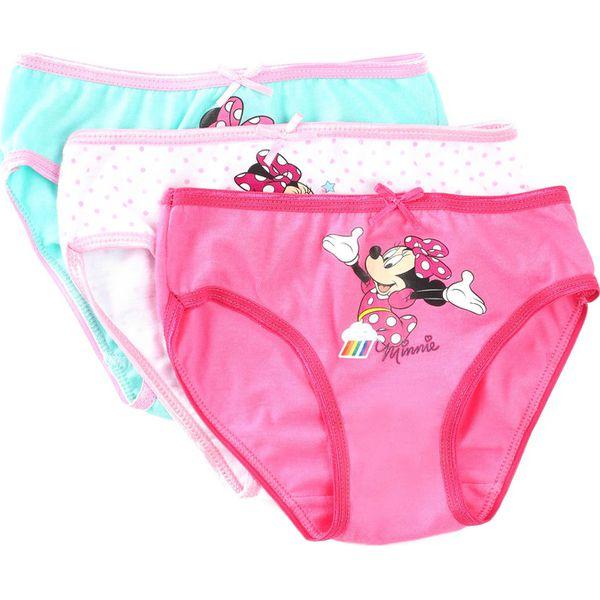 c3f2710eefe576 3-pack Miętowo-Różowe Majtki Young Day - Bielizna dla dziewczynek ...