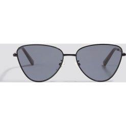 Le Specs Okulary przeciwsłoneczne Echo - Black. Czarne okulary przeciwsłoneczne damskie Le Specs. Za 283.95 zł.