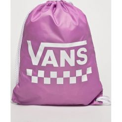 Vans - Plecak. Różowe plecaki damskie Vans, z poliesteru. Za 59.90 zł.