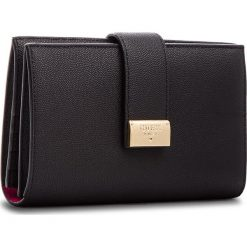 Duży Portfel Damski GUESS - SWDECA L8349 BLA. Czarne portfele damskie Guess, z aplikacjami, ze skóry. Za 519.00 zł.