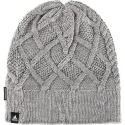 Czapka adidas - Clmht Lined Bea BR9967 Corhtr/Black/White. Szare czapki i kapelusze damskie Adidas, z elastanu. Za 119.00 zł.