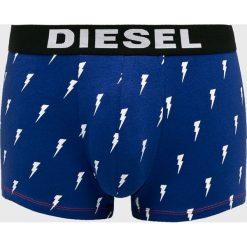 Diesel - Bokserki (3-pack). Niebieskie bokserki męskie Diesel, z bawełny. Za 199.90 zł.