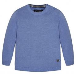 Sweter w kolorze niebieskim. Swetry dla chłopców marki Reserved. W wyprzedaży za 54.95 zł.