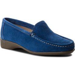 Mokasyny SERGIO BARDI - Carlentini SS127310818KD 813. Niebieskie mokasyny damskie Sergio Bardi, ze skóry. W wyprzedaży za 149.00 zł.