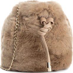 Torebka TWINSET - Sacchettino OA7TAE  Deep Ho 00887. Brązowe torebki do ręki damskie Twinset, ze skóry. W wyprzedaży za 379.00 zł.