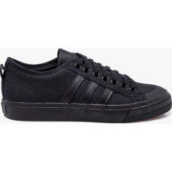 Adidas Originals - Tenisówki Nizza. Czarne trampki męskie adidas Originals, z gumy. W wyprzedaży za 239.90 zł.