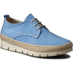 Espadryle QUAZI - W5 Jeansowy. Niebieskie espadryle damskie QUAZI, z jeansu. W wyprzedaży za 119.99 zł.
