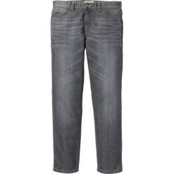 """Dżinsy Regular Fit Straight bonprix szary """"used"""". Jeansy męskie marki bonprix. Za 74.99 zł."""
