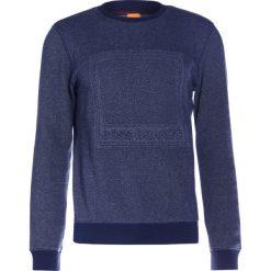 BOSS CASUAL WACK Bluza dark blue. Kardigany męskie BOSS CASUAL, z bawełny. W wyprzedaży za 463.20 zł.