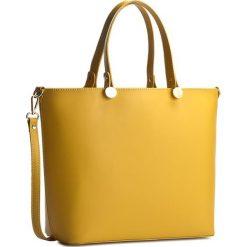 Torebka CREOLE - K10226 Żółty. Żółte torebki do ręki damskie Creole, ze skóry. Za 319.00 zł.
