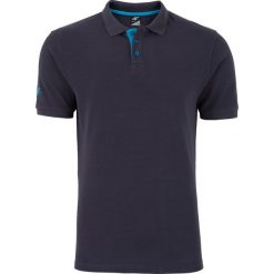 Koszulka polo męska TSM051z - granatowy. Niebieskie koszulki polo męskie 4f, na jesień, z bawełny. Za 69.99 zł.