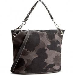 Torebka CREOLE - K10315 Czarny/Szary. Szare torebki do ręki damskie Creole, ze skóry. W wyprzedaży za 169.00 zł.