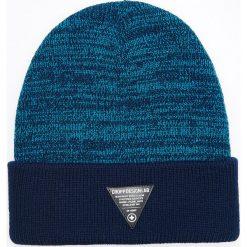 Czapka - Granatowy. Niebieskie czapki i kapelusze męskie Cropp. Za 39.99 zł.