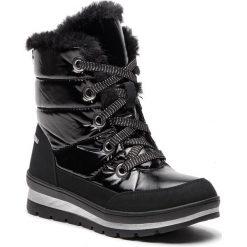 Śniegowce CAPRICE - 9-26221-21 Black Comb 019. Czarne kozaki damskie Caprice, z materiału. W wyprzedaży za 219.00 zł.