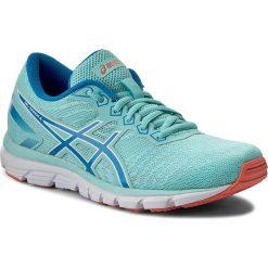 Buty ASICS - Gel-Zaraca 5 T6G8N Aqua Splash/Diva Blue/White 6743. Niebieskie obuwie sportowe damskie Asics, z materiału. W wyprzedaży za 229.00 zł.