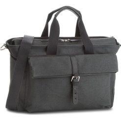 Torebka CLARKS - The Herston 261382530  Dark Grey. Czarne torebki do ręki damskie Clarks, z materiału. W wyprzedaży za 349.00 zł.