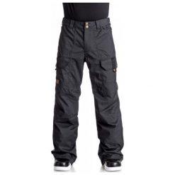 DC Spodnie Snowboardowe Code Pnt M Snpt kvj0 Black M. Czarne spodnie snowboardowe męskie DC, na zimę. W wyprzedaży za 549.00 zł.