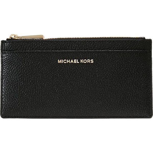 new product 9a3e2 db902 MICHAEL Michael Kors MONEY PIECES SLIM CARD CASE Portfel black