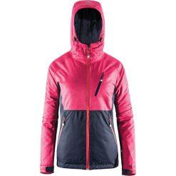 Kurtka narciarska w kolorze różowym. Czerwone kurtki damskie Outhorn. W wyprzedaży za 187.95 zł.