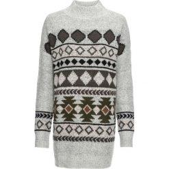 Sweter bonprix szary. Swetry damskie marki KALENJI. Za 129.99 zł.