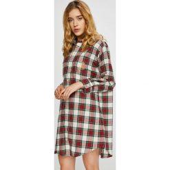 Lauren Ralph Lauren - Koszula nocna. Szare koszule nocne damskie Lauren Ralph Lauren, z bawełny. W wyprzedaży za 259.90 zł.