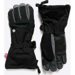 Columbia - Rękawiczki Inferno Range. Czarne rękawiczki męskie Columbia, z materiału. W wyprzedaży za 179.90 zł.