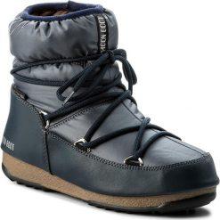 Śniegowce MOON BOOT - W.E. Low Nylon Wp 24006200006 Blue Denim. Niebieskie kozaki damskie Moon Boot, z denimu. Za 559.00 zł.