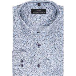 Koszula SIMONE KDWR000123. Szare koszule męskie Giacomo Conti, z tkaniny, z klasycznym kołnierzykiem, z długim rękawem. Za 149.00 zł.