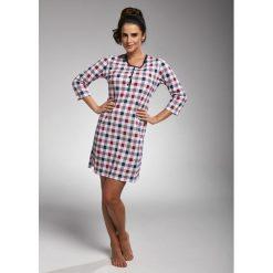 Koszula nocna damska 651/183 Naomi granatowo-różowa r. S. Czerwone koszule nocne damskie Cornette. Za 63.87 zł.