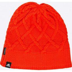 Adidas Performance - Czapka. Czerwone czapki i kapelusze damskie adidas Performance. W wyprzedaży za 59.90 zł.