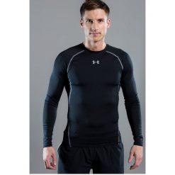 Under Armour - Longsleeve HeatGear® Compression Shirt. Szare bluzki z długim rękawem męskie Under Armour, z dzianiny, z okrągłym kołnierzem. W wyprzedaży za 139.90 zł.